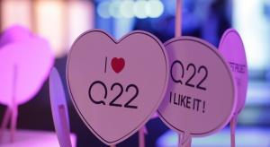 Bryła jak kryształ kwarcu. Q22 oficjalnie otwarty
