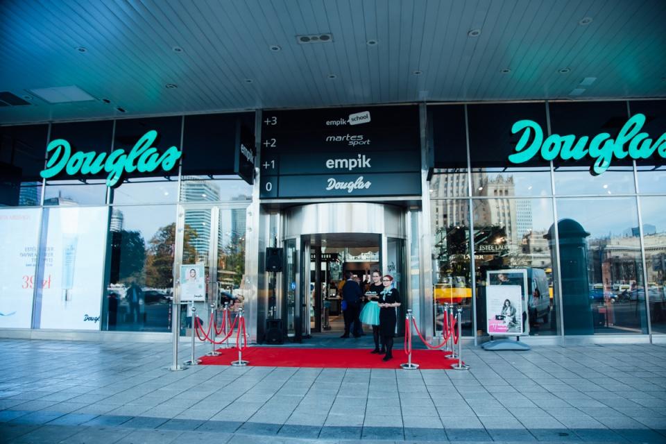 To pierwsza tego typu perfumeria Douglas w Polsce