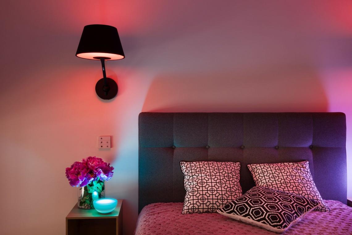 Inteligentna lampa na jesienne wieczory