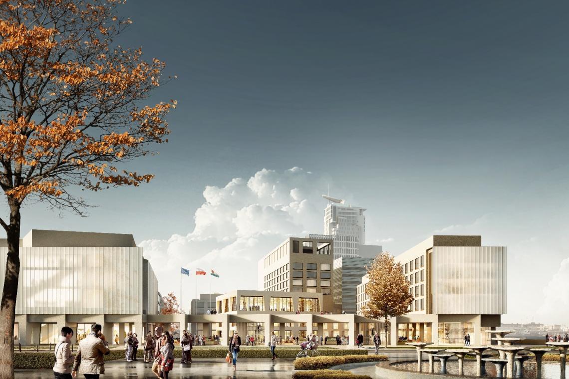 JEMS Architekci opracują koncepcję nowego etapu Gdynia Waterfront. Wprowadzą życie między budynkami