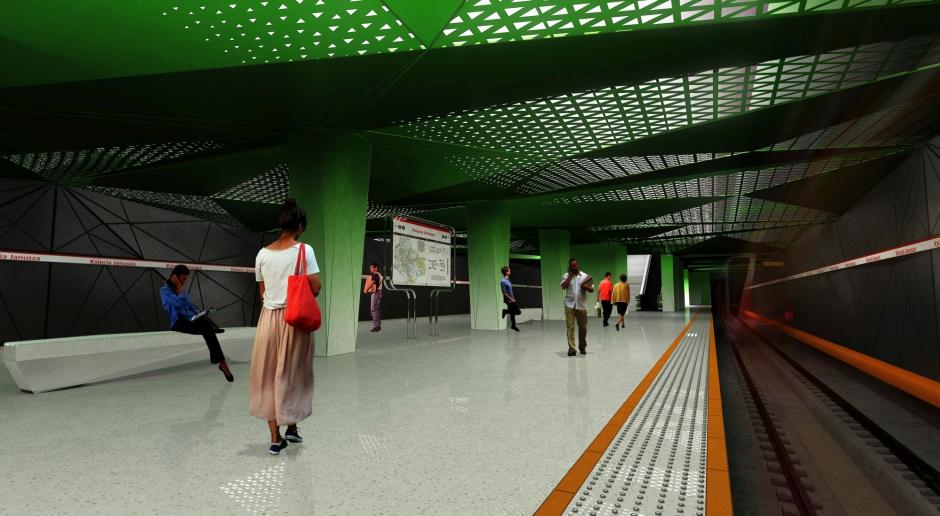 Budowa tuneli metra na warszawskiej Woli