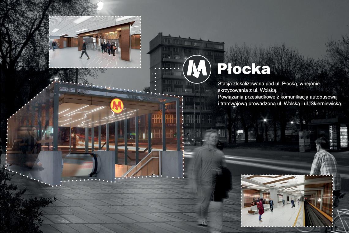 Metro na Wolę. Na starcie budowa stacji Płocka