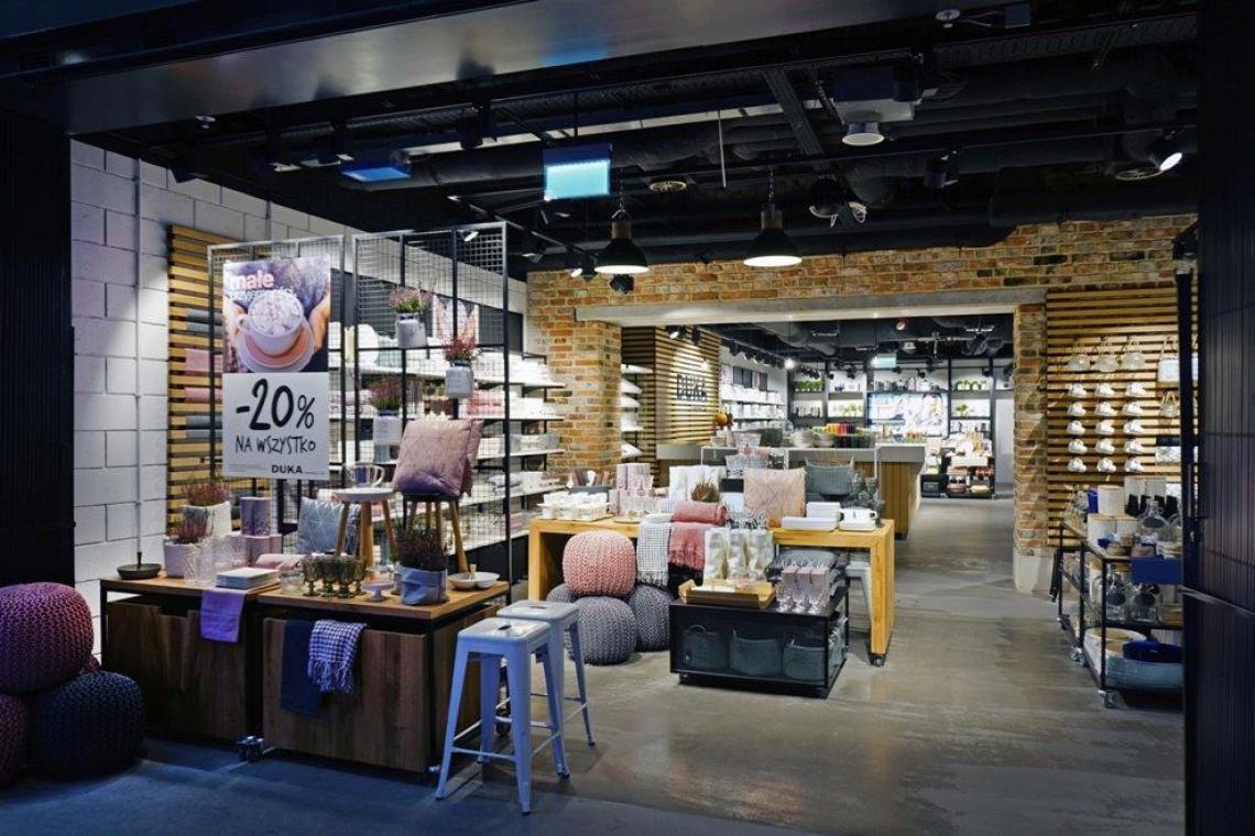 Designerski salon Duka w nowej Hali Koszyki
