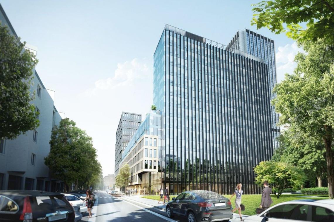Park Avenue od JSK Architekci - przemyślana architektura w sercu Warszawy