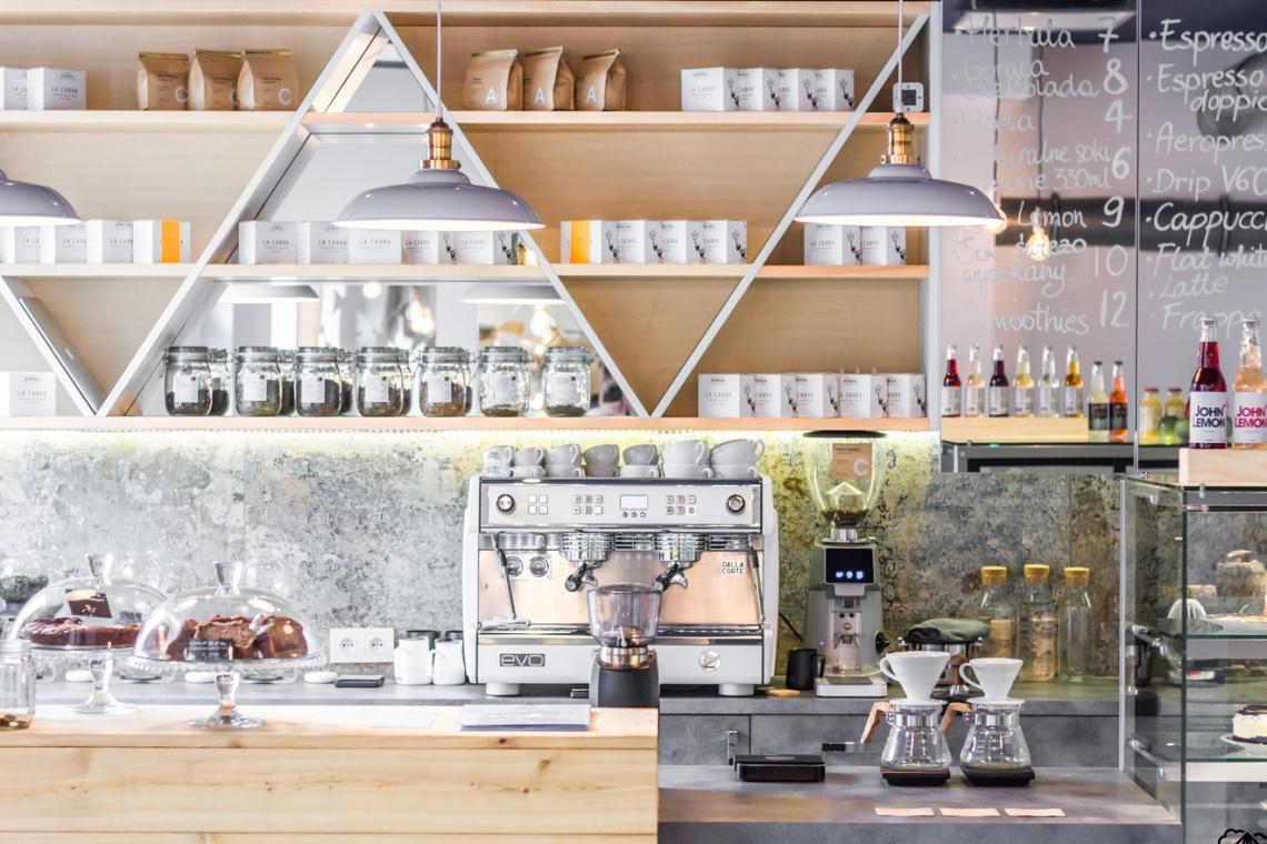 Kawa z gorylem? Nowy lokal w Białymstoku - to dzieło MB Projekt