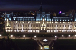 Pałac Kultury w Jassach – największy w Rumunii obiekt oświetlony w technologii LED