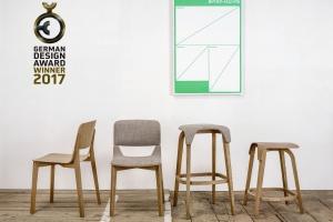Krzesło i taboret inspirowane... liśćmi drzewa
