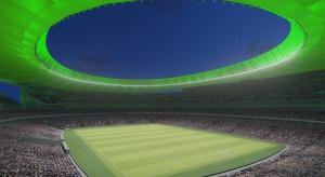 Nowy stadion Atletico Madrid zachwyci nie tylko architekturą, ale też oświetleniem