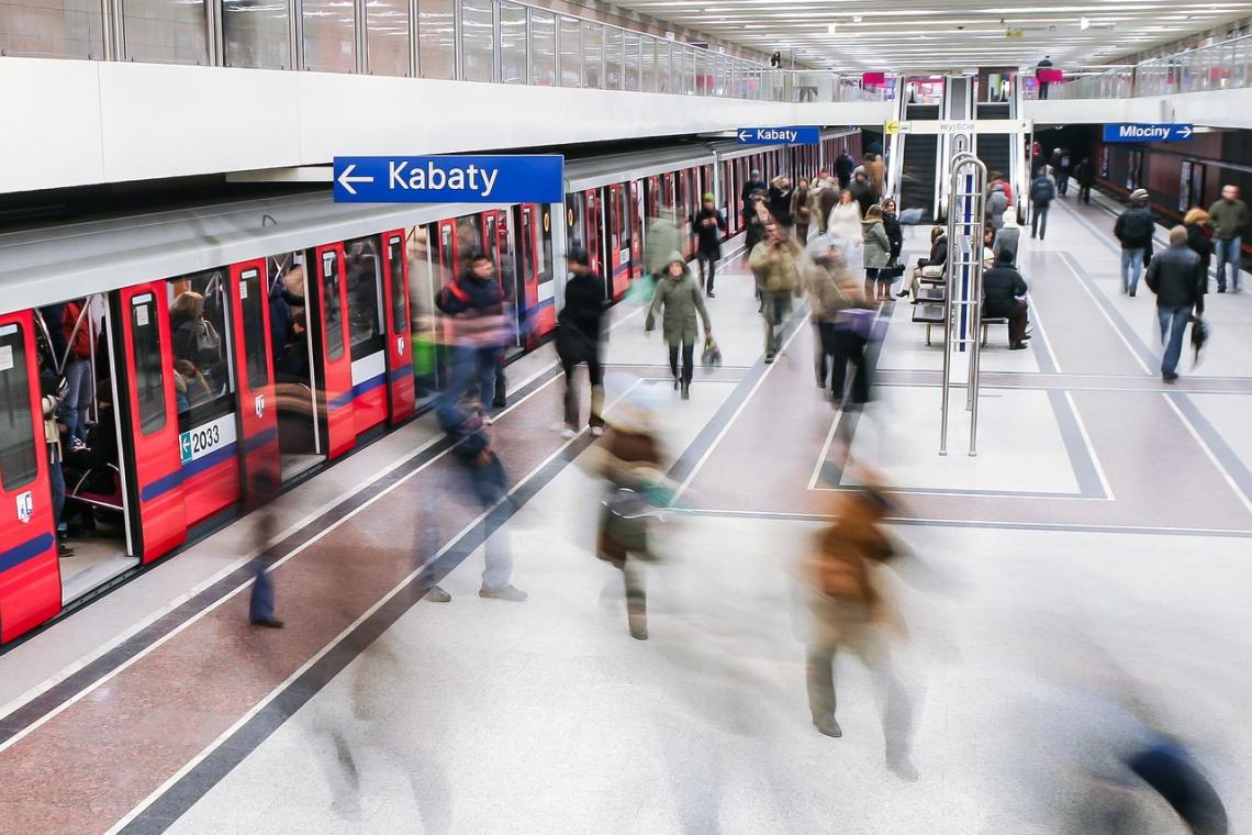 Kto zaprojektuje kolejne stacje metra? Na starcie konkurs