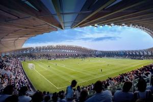 Niezwykły stadion z... drewna. To projekt Zaha Hadid Architects
