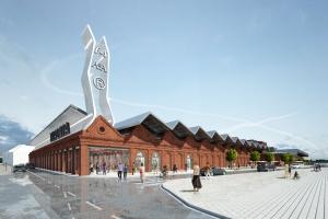Tkalnia  - nowe centrum handlowe z historią w tle