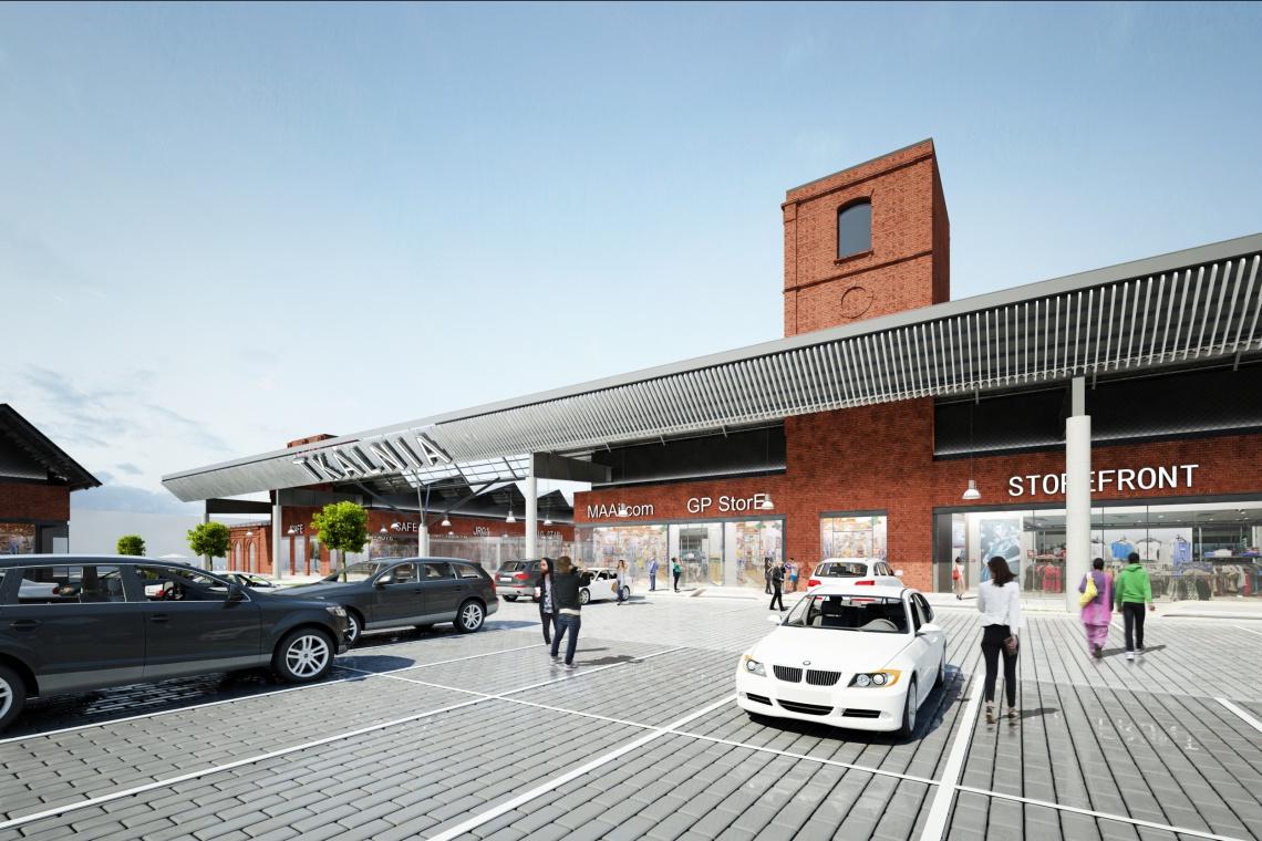 Centrum handlowe, które odmieni Pabianice. Unikatowa architektura spod kreski MAAi