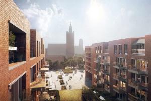 W centrum Gdańska powstaje 10-piętrowy biurowiec. To projekt Jems Architekci