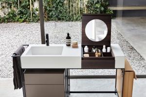 Kompaktowe rozwiązanie do hotelowych łazienek
