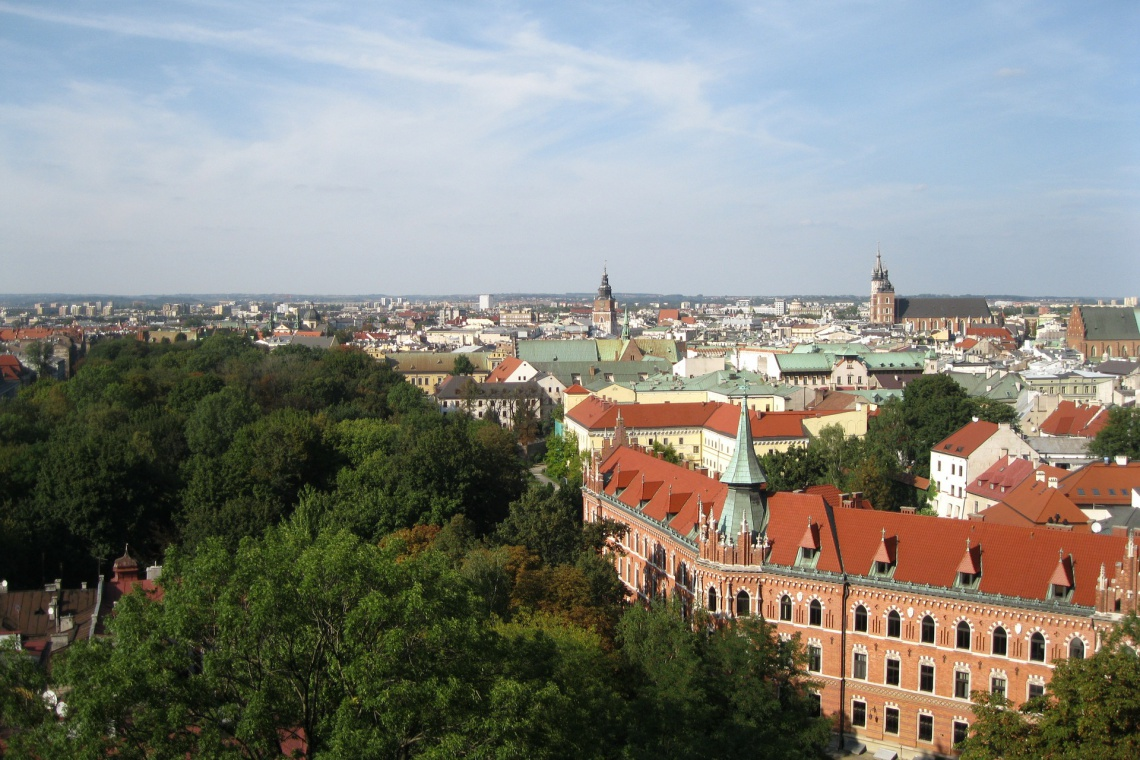 """W Krakowie powstał """"atlas przewietrzania miasta"""". To pomoc w planowaniu przestrzennym"""