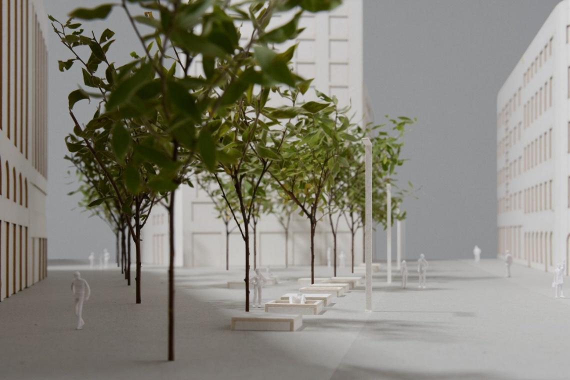 Tylko dwie oferty na projekt placu Pięciu Rogów w Warszawie
