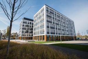 Business Garden Wrocław gotowy. To projekt APA Wojciechowski
