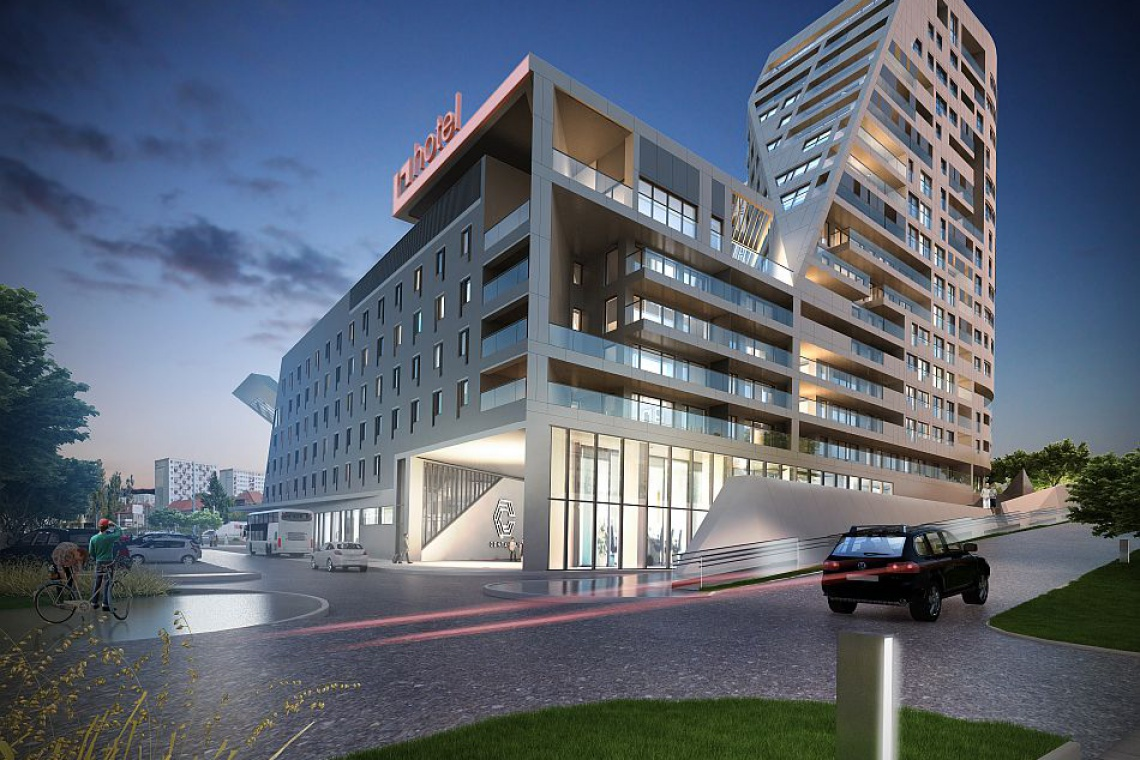 Jest decyzja - powstanie Hampton by Hilton w olsztyńskim Centaurusie