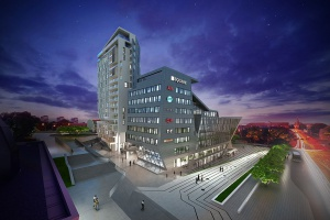 Andrzej Kapuścik Centaurusem łączy dwa architektoniczne światy Olsztyna