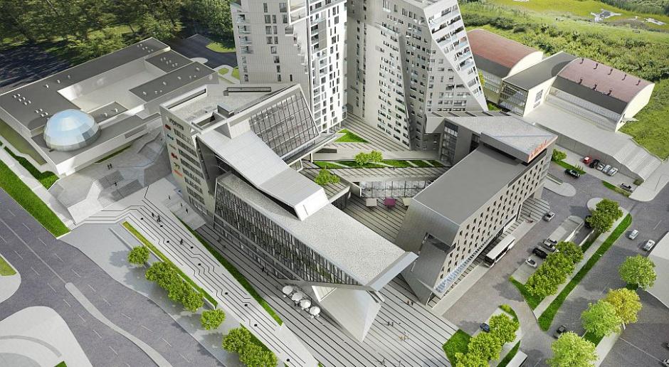Centaurus - nowy projekt w Olsztynie. To odważna architektura spod kreski Andrzeja Kapuścika