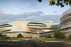Imponujący projekt w Chinach spod kreski Zaha Hadid Architects