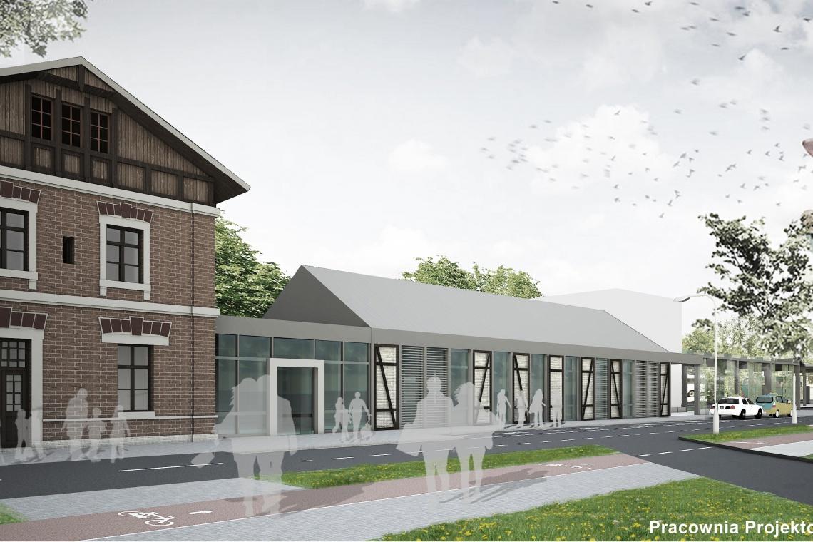 Zrujnowany dworzec zyska nowe życie. Znamy szczegóły projektu