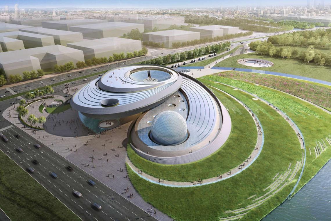 Niezwykłe planetarium, kosmiczny design