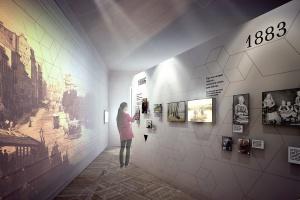 Nizio Design zaprojektowało nową wystawę o Marii Skłodowskiej-Curie