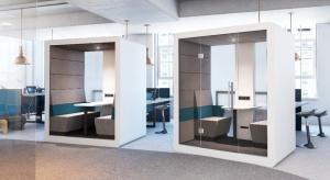 Biurowe strefy wyciszenia - nowa propozycja od producenta mebli