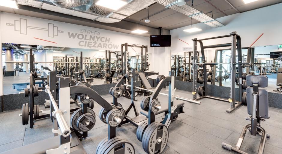 W klubie fitness liczy się każdy detal. Nowoczesne wnętrza w Galerii Rondo Wiatraczna