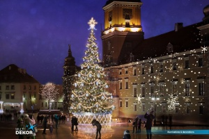 Wielka iluminacja świątecznej Warszawy. Znamy szczegóły