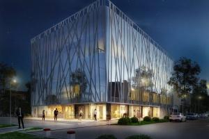 Pięć pięter szytych na miarę  - powstaje nowy biurowiec w Krakowie