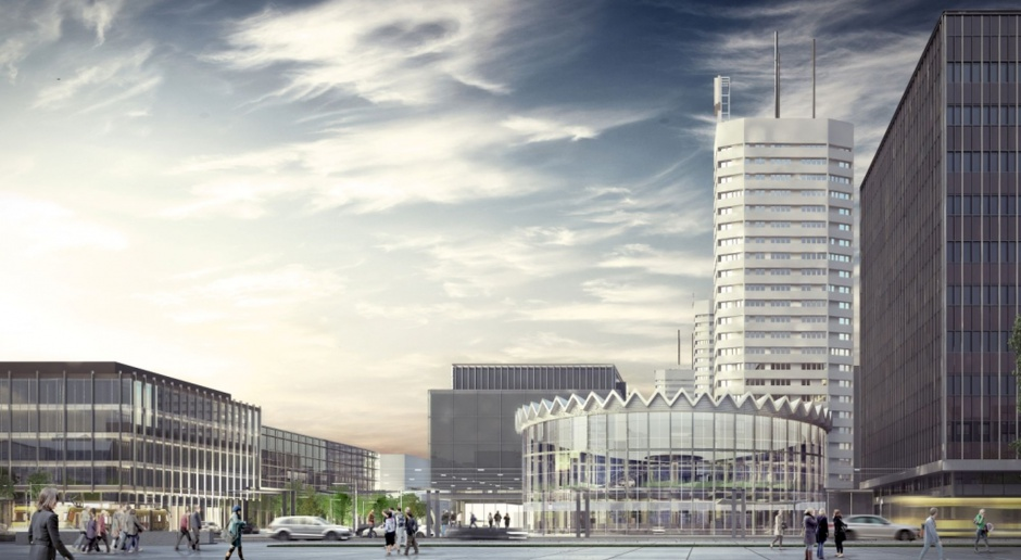 Znika stara Rotunda. Centrum Warszawy zmieni się nie do poznania