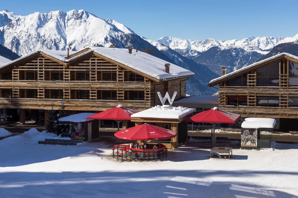 Najlepszy narciarski hotel od Concrete Architectural Associates