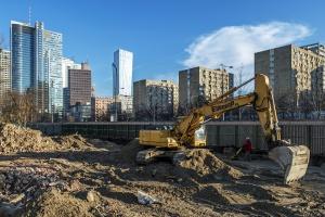 Co słychać na budowie Mennica Legacy Tower?