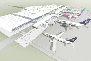 Lotnisko w Lublinie rozbudują według projektu ARE Stiasny&Wacławek