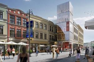 Nowy hotel spod kreski Bulanda, Mucha architekci