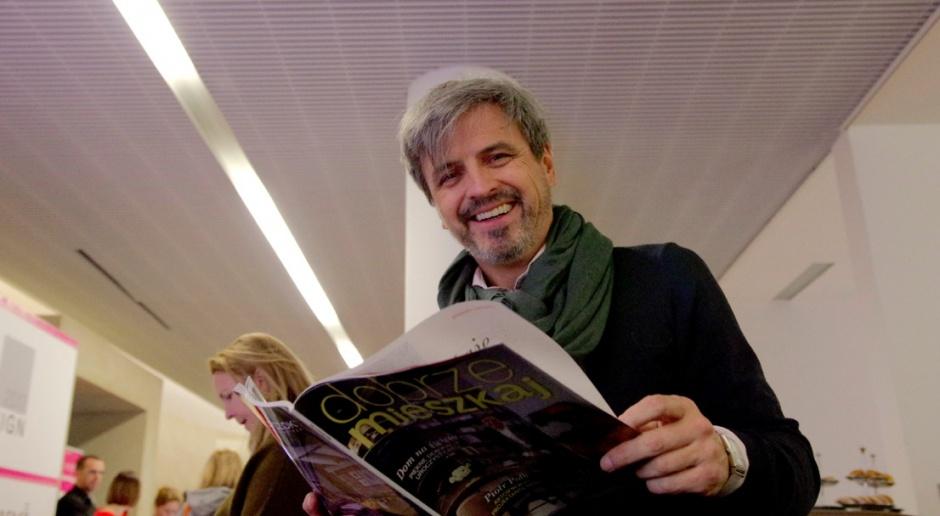 Piotr Polk na Forum Dobrego Designu: Jestem praktyczny i takie są moje projekty