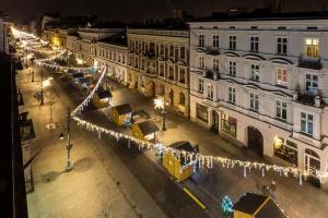 Zobacz, jak świąteczna iluminacja rozświetliła Łódź