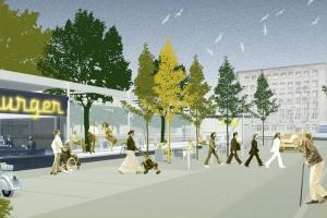 To będzie wyjątkowe centrum lokalne na warszawskim Mokotowie