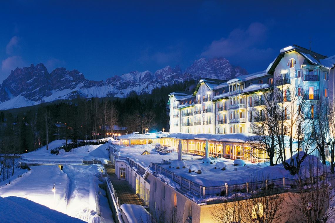 Diamentowy hotel w sercu gór