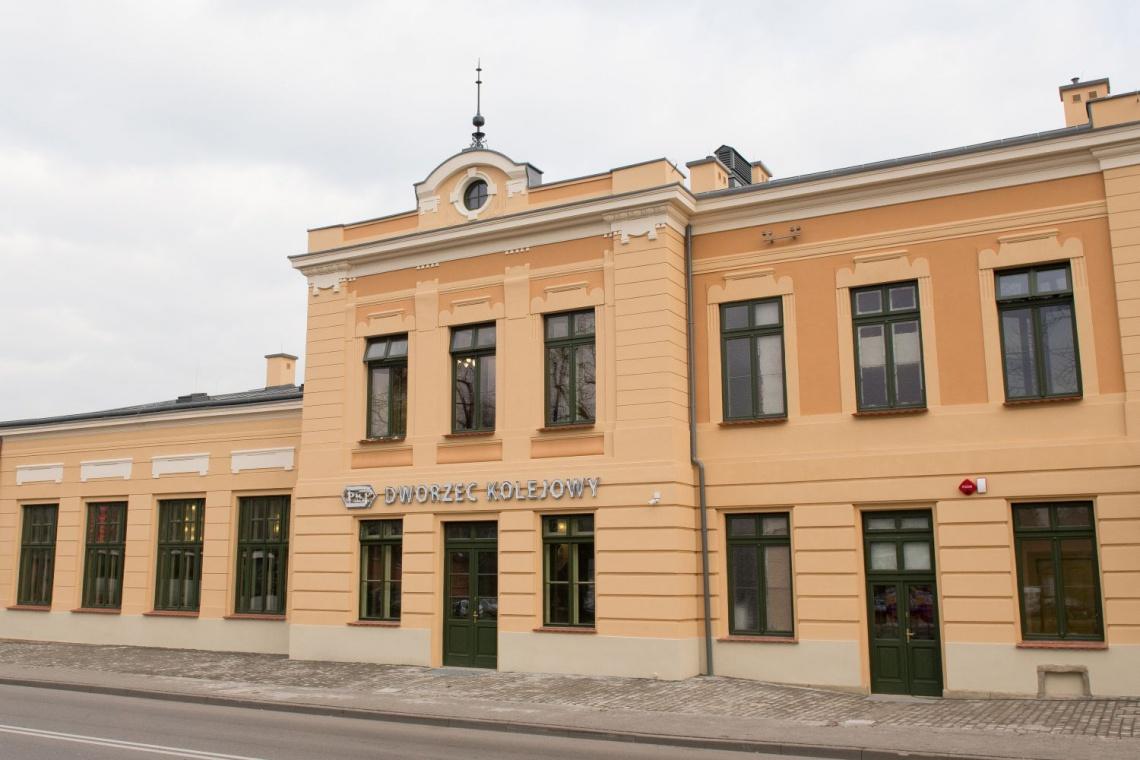 Dworzec Wieliczka Park jak nowy