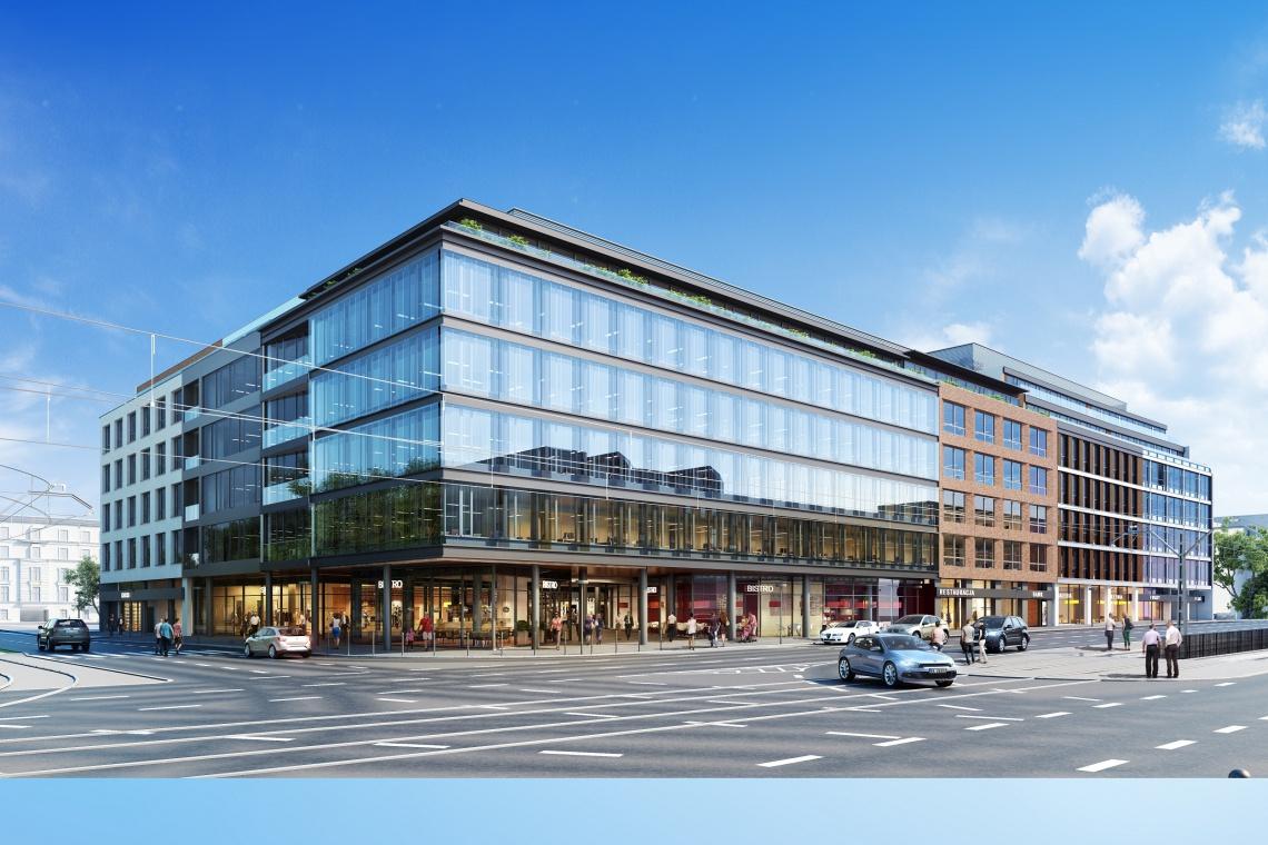 Ogrodowa 8 Office z wiechą. To największa inwestycja biurowa realizowana w Łodzi
