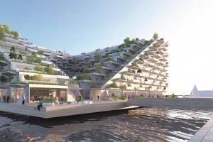 Budynek na wodzie. Unikalny projekt zespołu z polskimi architektami