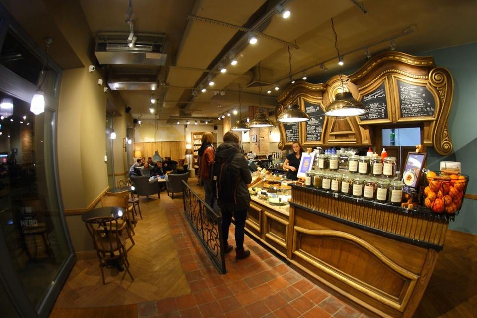 Krakowski klimat na... Francuskiej. Najnowsze Green Caffè Nero na Saskiej Kępie