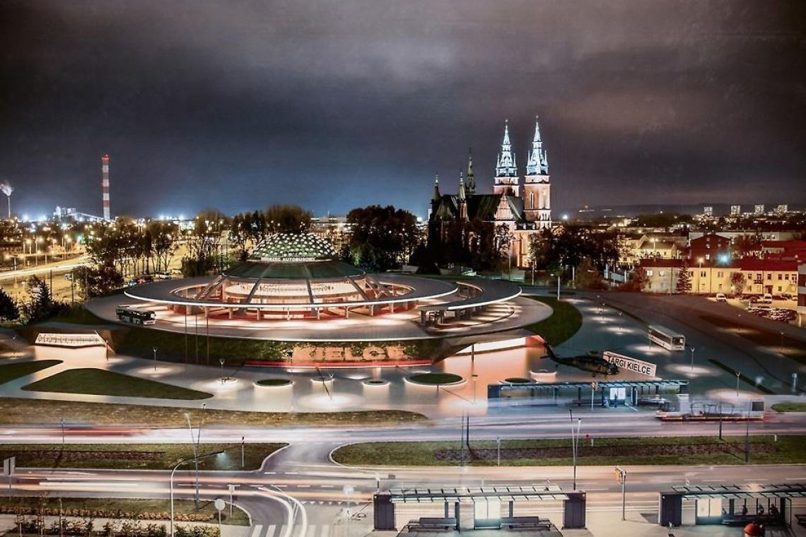 Zwycięski projekt modernizacji dworca PKS w Kielcach