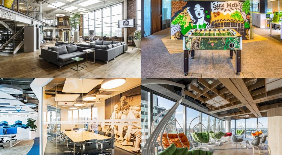 TOP 10: Najbardziej designerskie biura 2016 roku