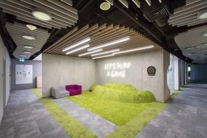 Biuro inspirowane naturą - zobacz realizację w Gdański Business Center