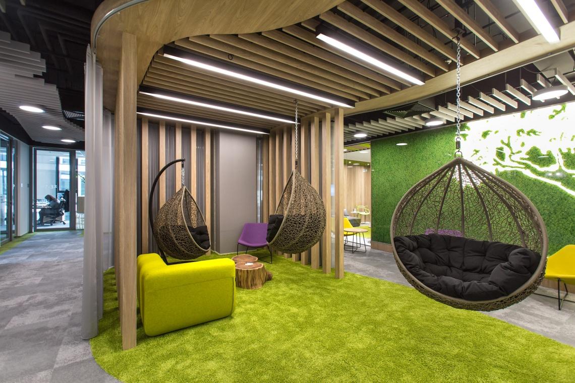 Biuro naszpikowane designem