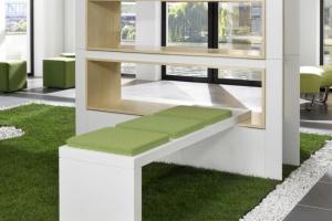 Zielone biuro jest trendy
